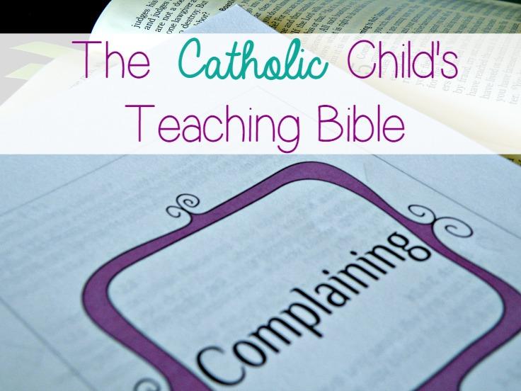 Catholic Child's Bible