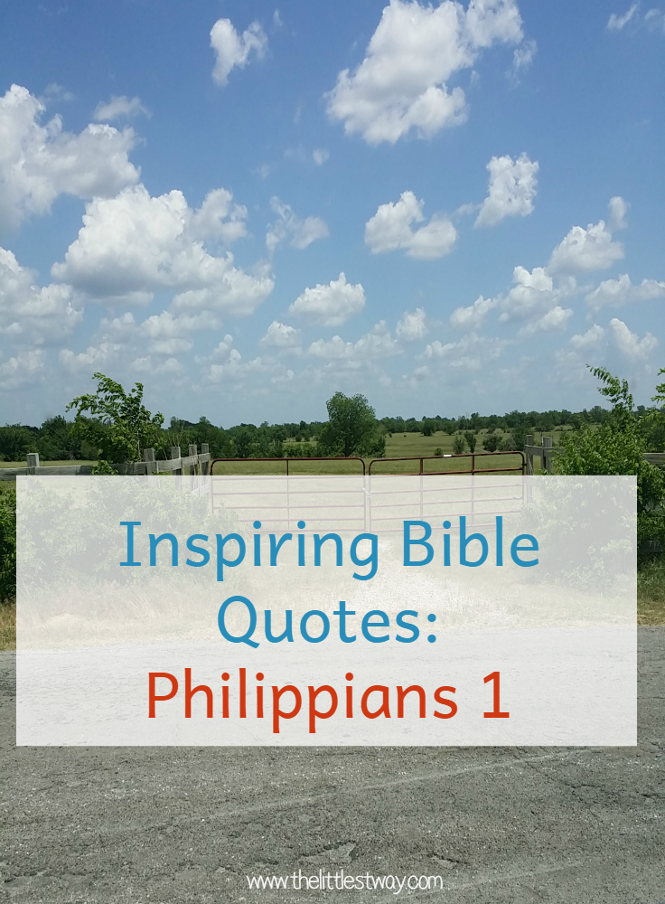 inspiring bible quotes philippians chapter 1 worksheet