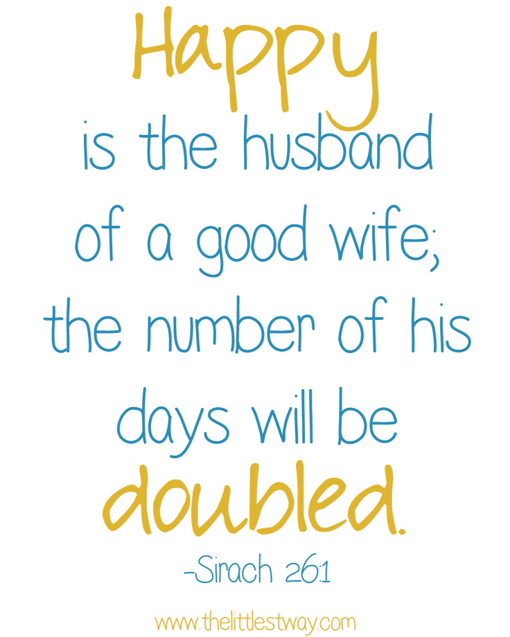 a good husband A good husband and father makes time for both his children and his marriage, and contributes more than just a paycheck to the family to truly be a good.
