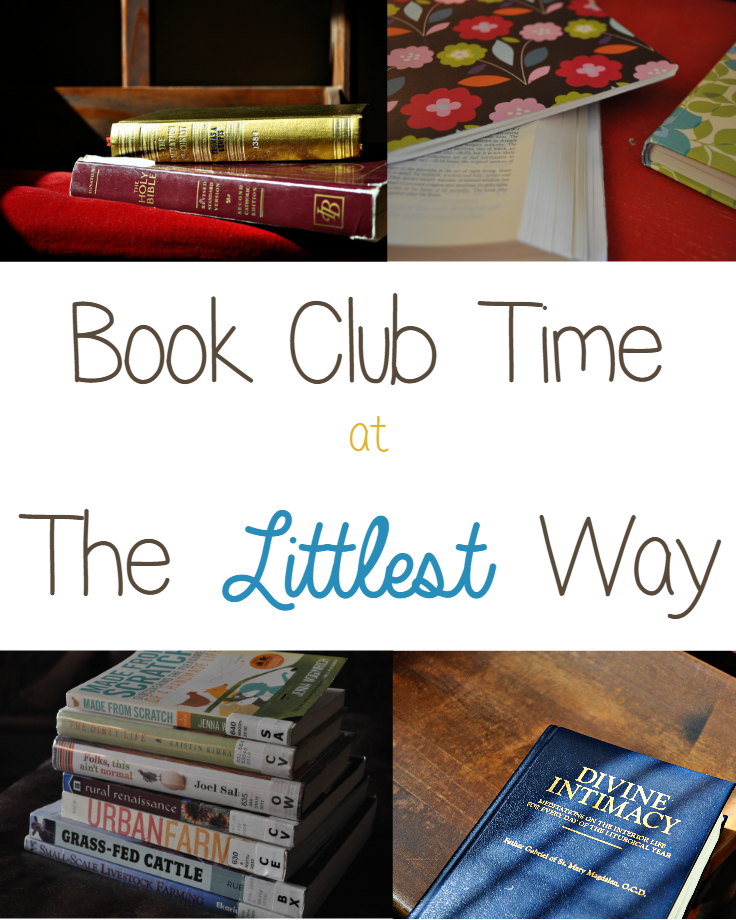 Book Club Time at The Littlest Way