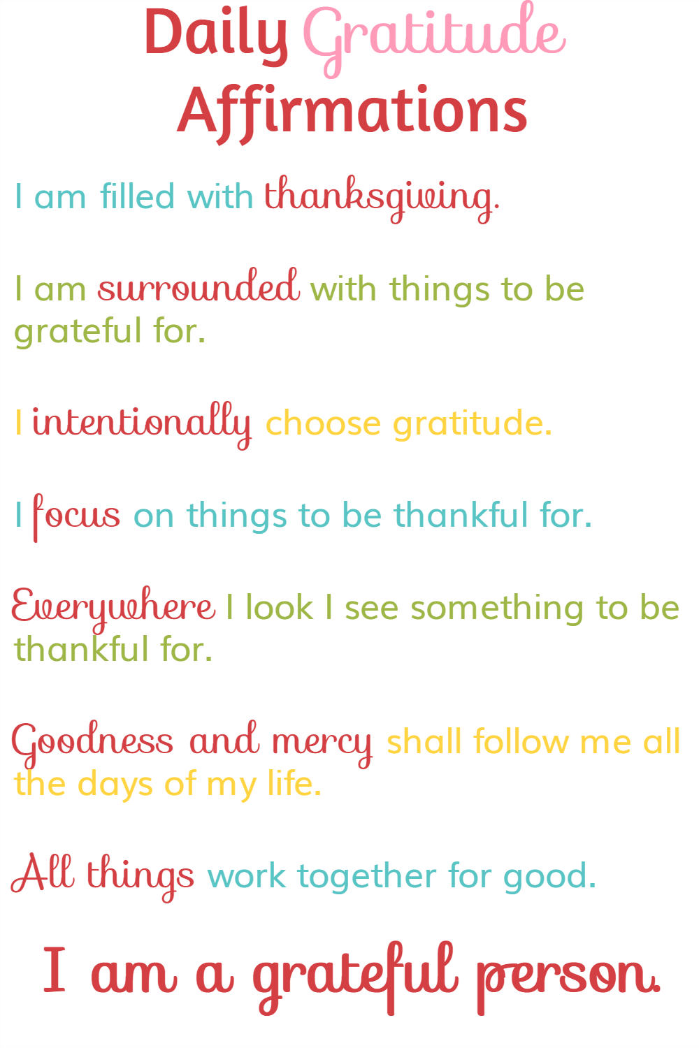 How To Change Your Life With Daily Gratitude Affirmations