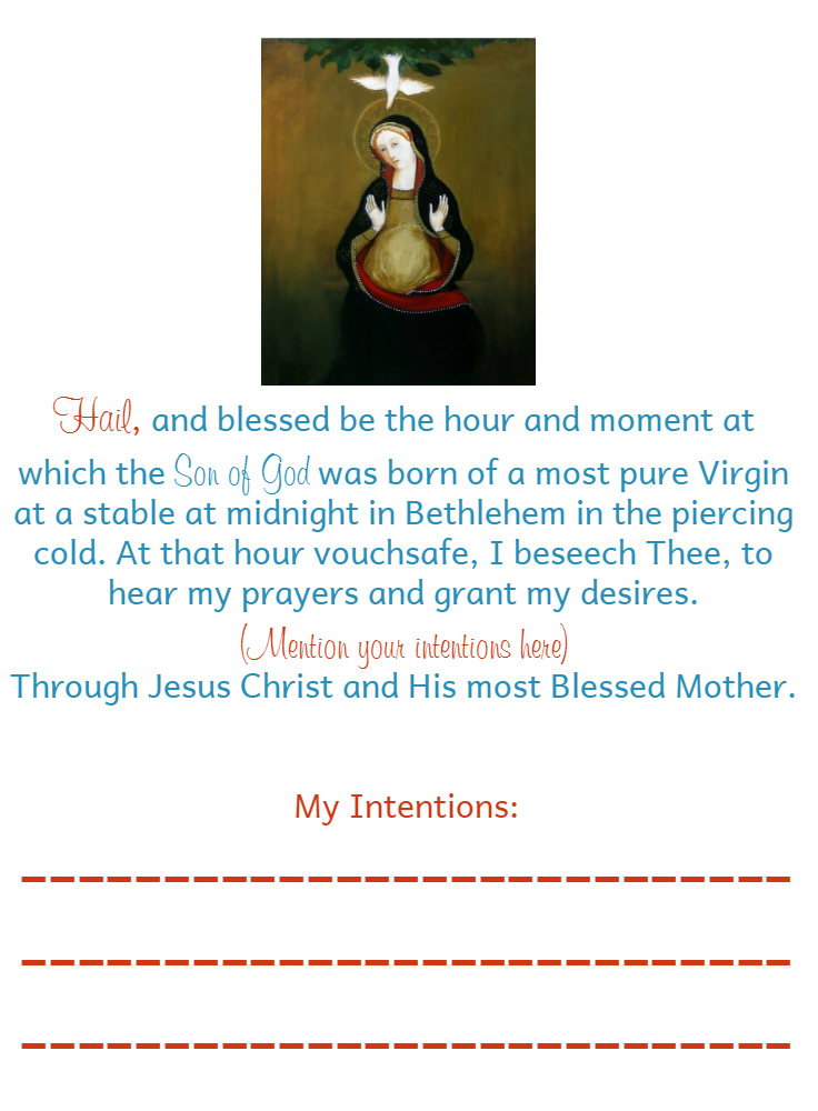 graphic relating to St Andrew Novena Printable called St Andrew Xmas Novena The Littlest Route