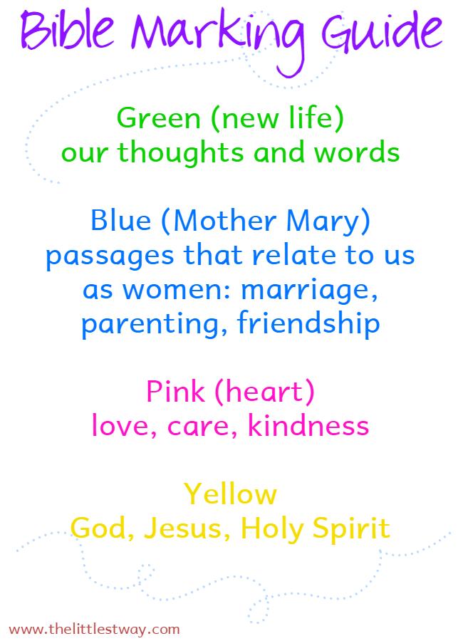 Bible Journaling Key