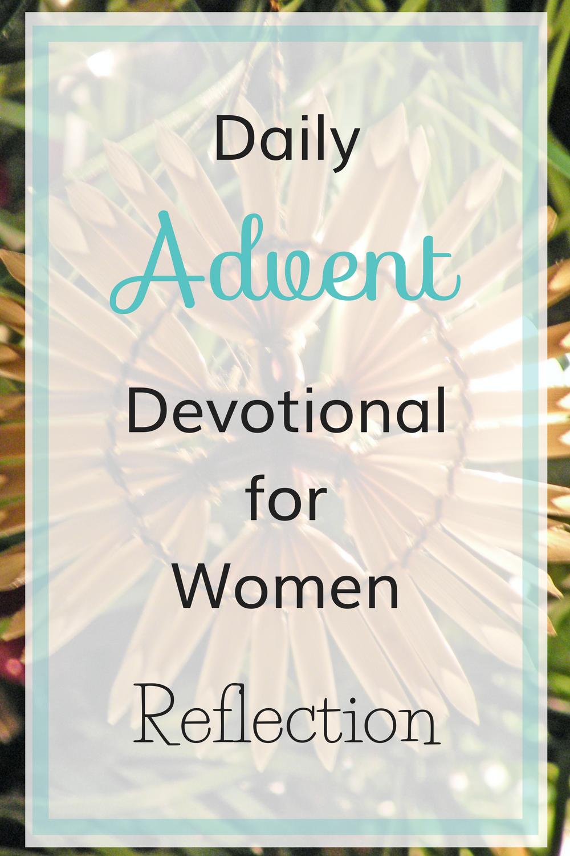 Advent Devotional for Women
