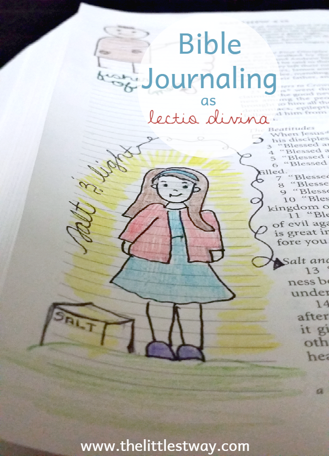 Bible Journaling as Lectio Divina