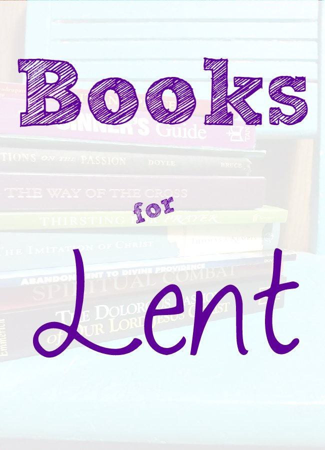 Book Club Time: Books for Lent