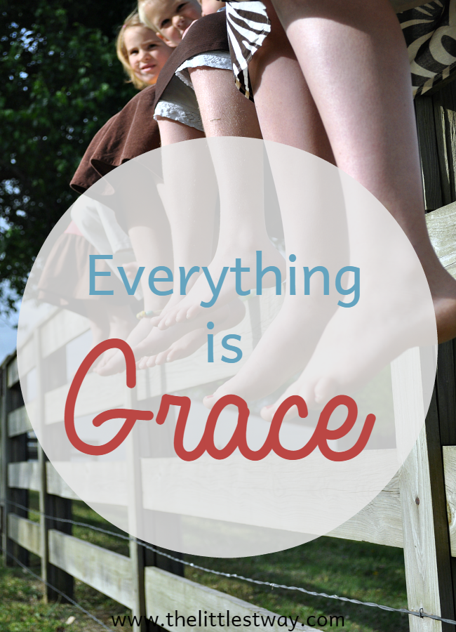 Everything is Grace St Therese Quote