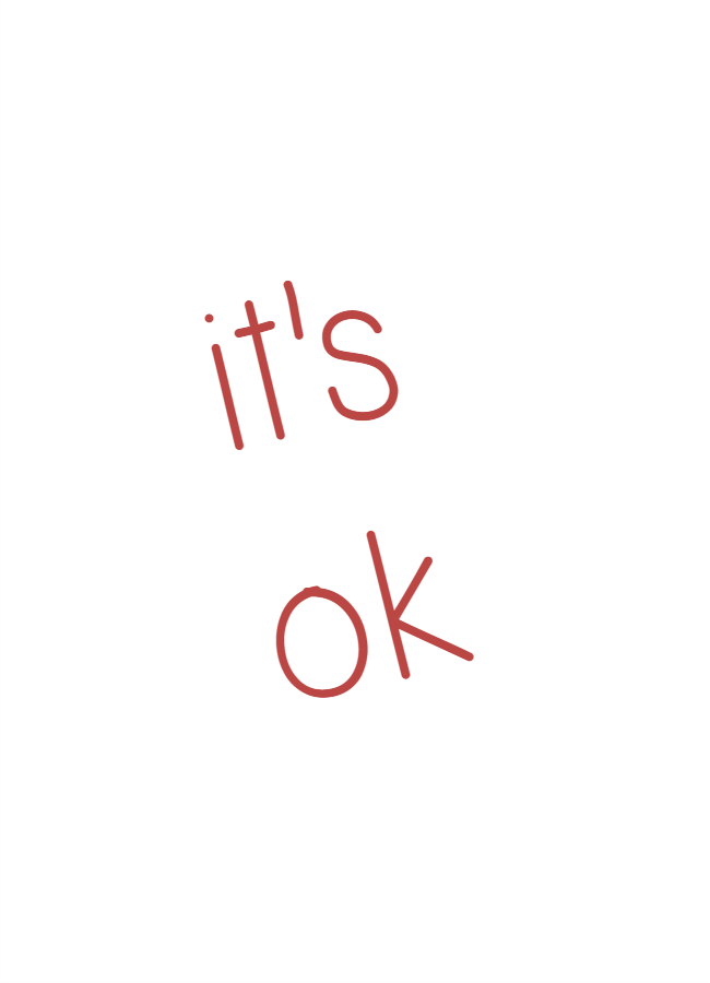 daily affirmations: It's ok