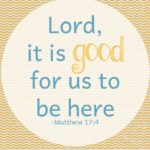 Daybook Online Journal: It is Good to Be Here