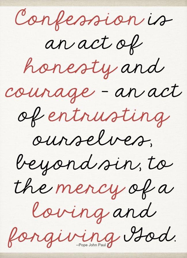 Confession quote