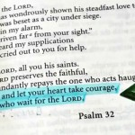 Bible Quotes: Wait for the Lord