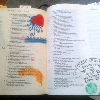 Bible Journaling: Just Be Simple