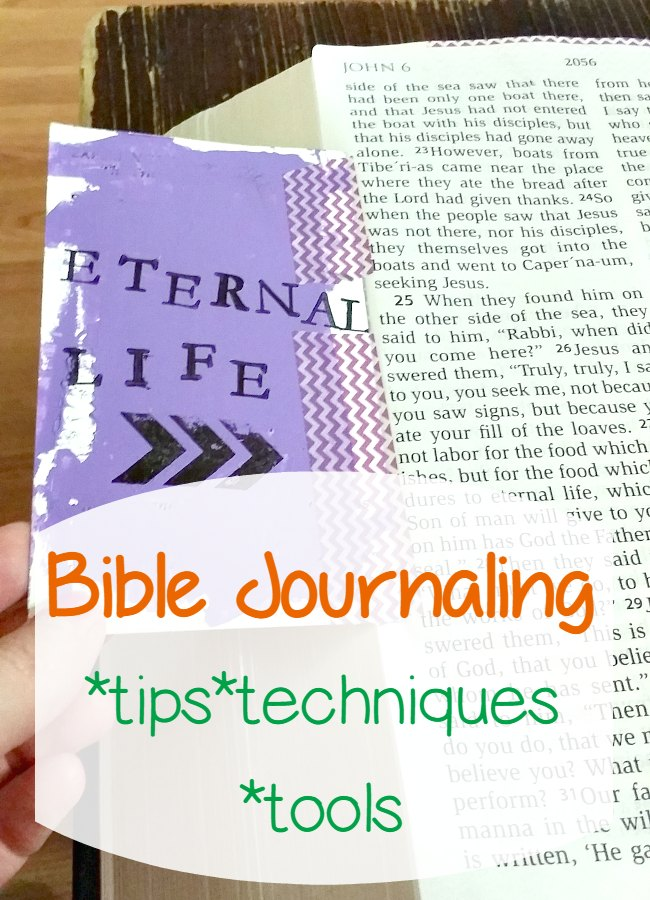 Catholic Bible Journaling