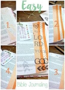 Easy Bible Journaling
