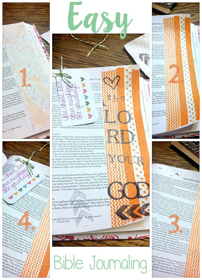Easy Bible Journaling