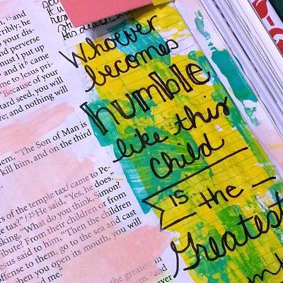 POWERful Bible Journaling: Matthew 18