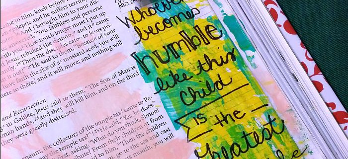 POWERful Bible Journaling: Matthew 18