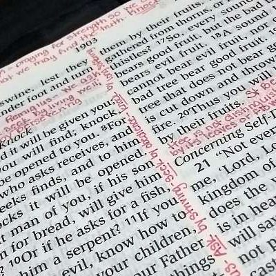 POWERful Bible Journaling: Matthew 7