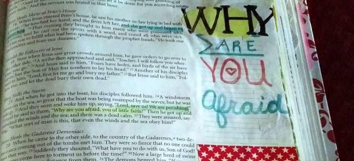 POWERful Bible Journaling: Matthew 8