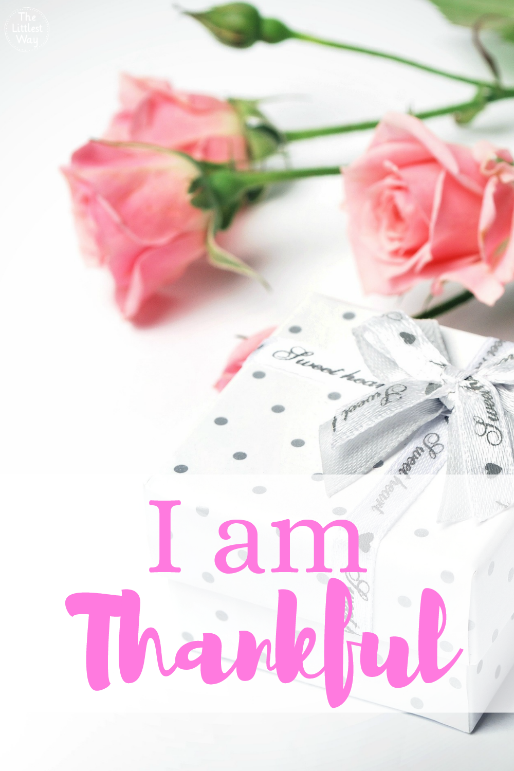 Daily Affirmations: I am thankful can be a life changing affirmation to change your thinking.