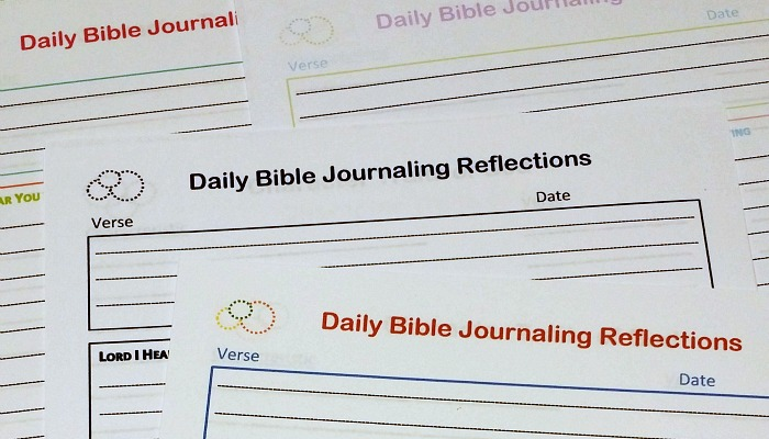 how to journal bible study