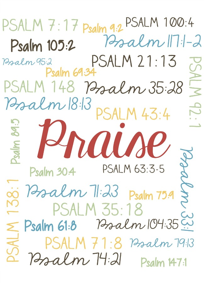 praise in the Bible