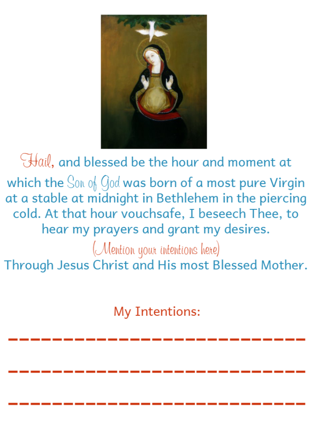 St. Andrew Christmas Novena • The Littlest Way