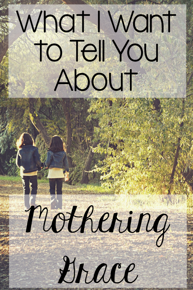 The Littlest Way: Mothering Grace
