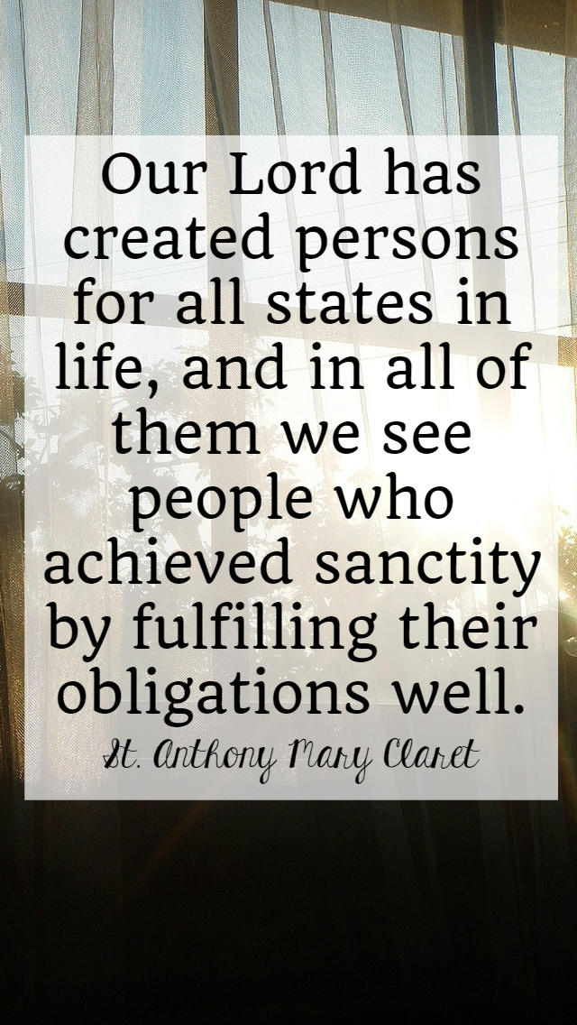 Saints quotes about holiness