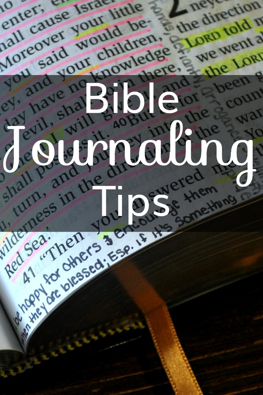 Bible Journaling Tips: Creating a Biblical Legacy