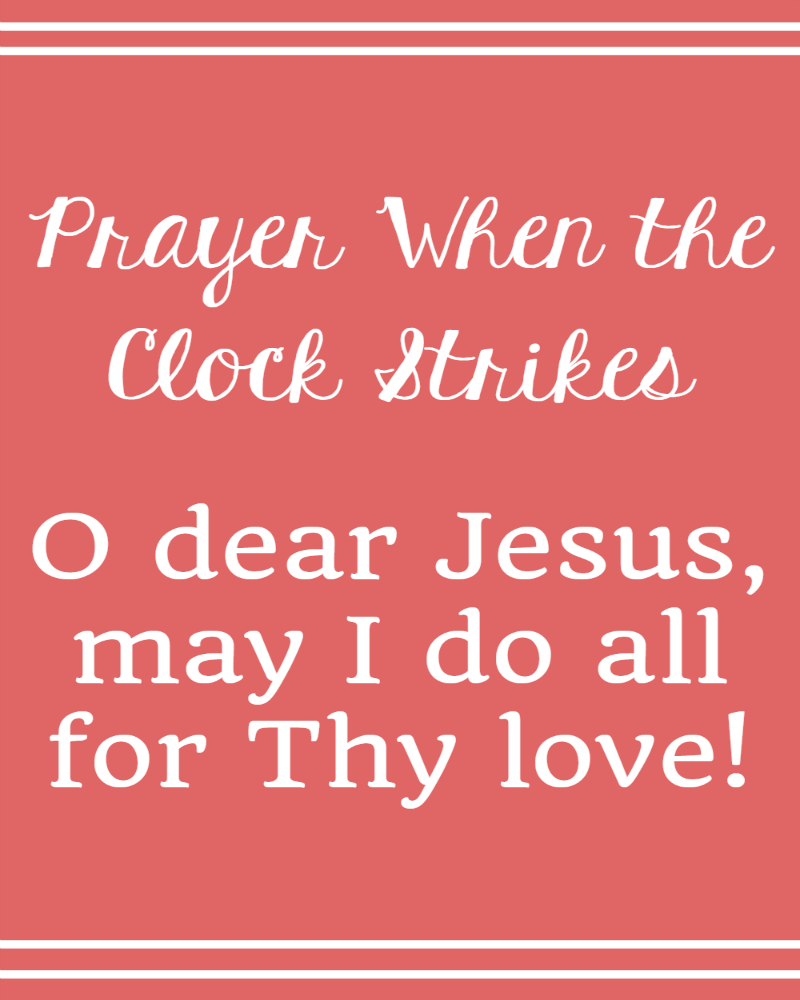 The Littlest Way Prayer