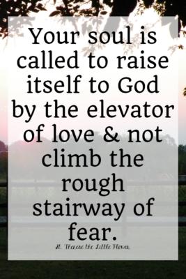 Saints Quotes about fear
