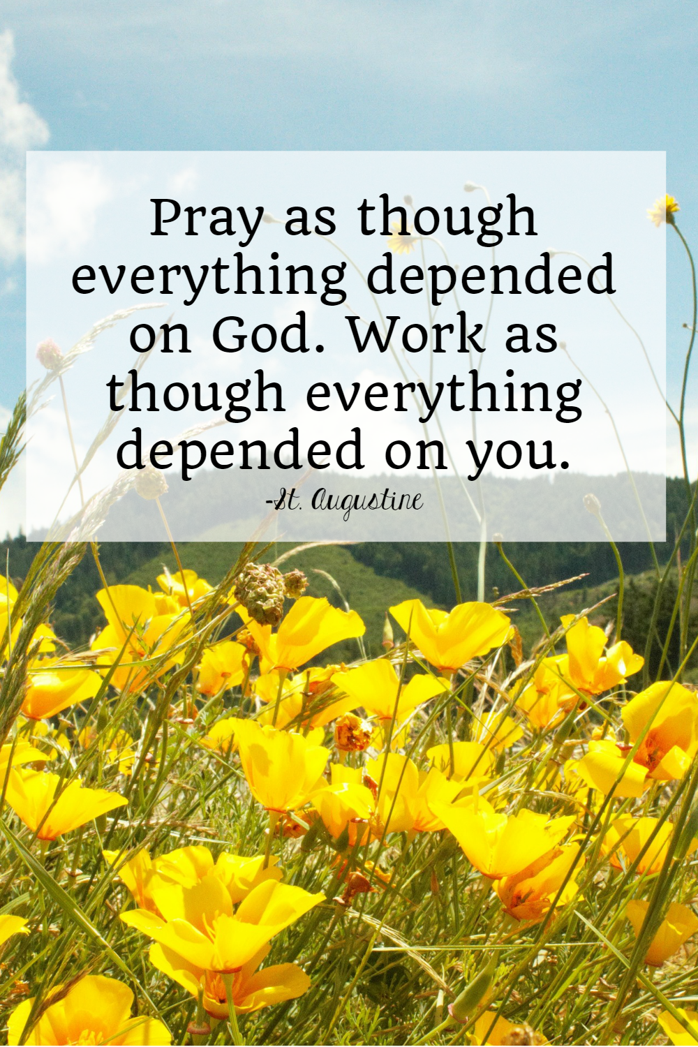 Just For Today Quotes Saints Quotes Ora Et Labora Prayer And Work • The Littlest Way