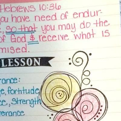 31 Days of Bible Quotes About Patience: Hebrews 10:36