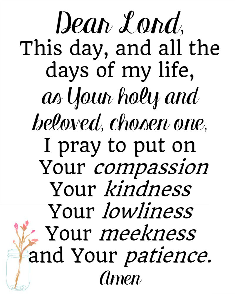 Bible Verses About Patience Printable The Littlest Way