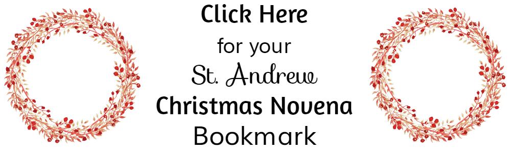 St Andrew Novena