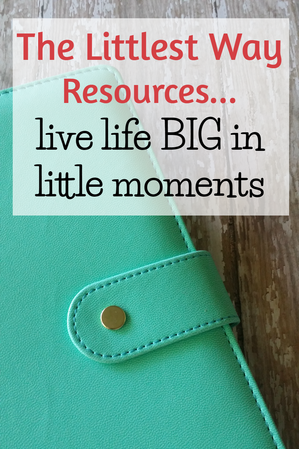The Littlest Way Resources to products and stores I recommend to family and friends