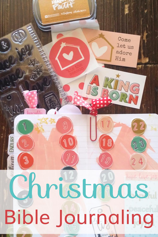 Illustrated Faith Christmas Bible Journaling Kit