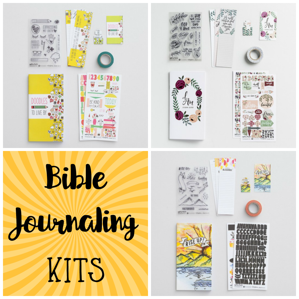 Bible Journaling kits is the easy way to get started Bible journaling.