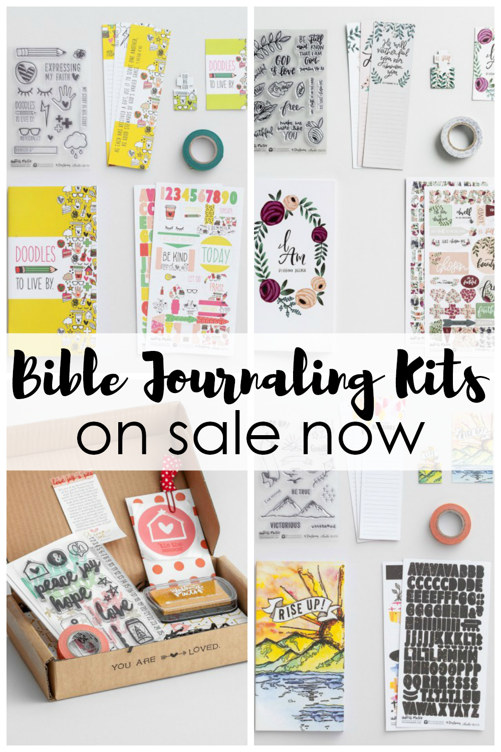 Bible journaling kits