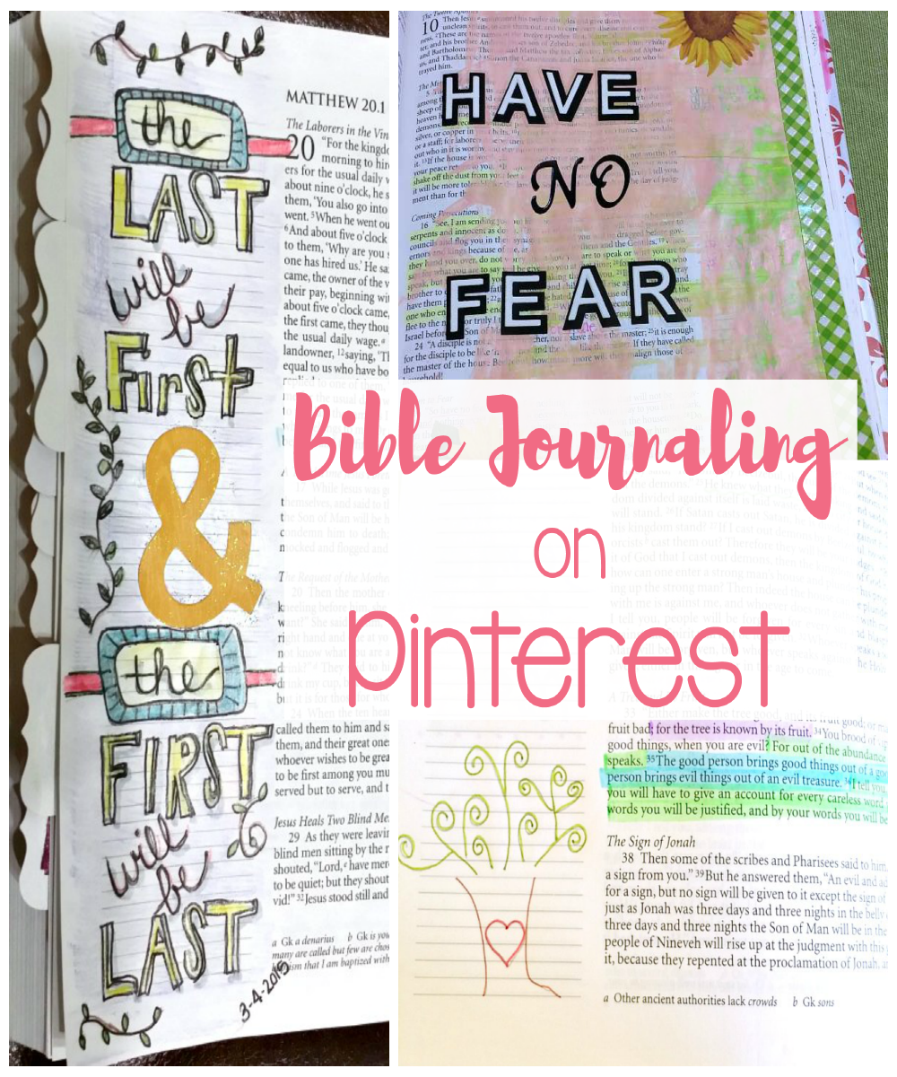 Bible Journaling on Pinterest can be a lovely eye candy for a weary soul. It can also lead to a discouraging game of comparison. I have tips to help you avoid that.