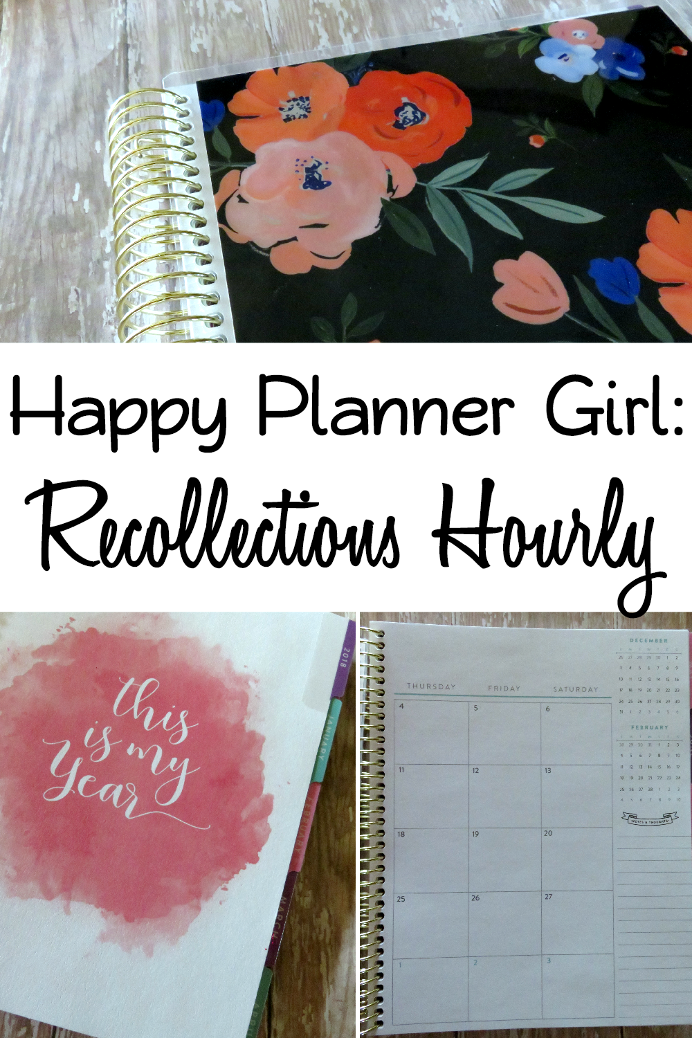 Review of Recollections Hourly Planner