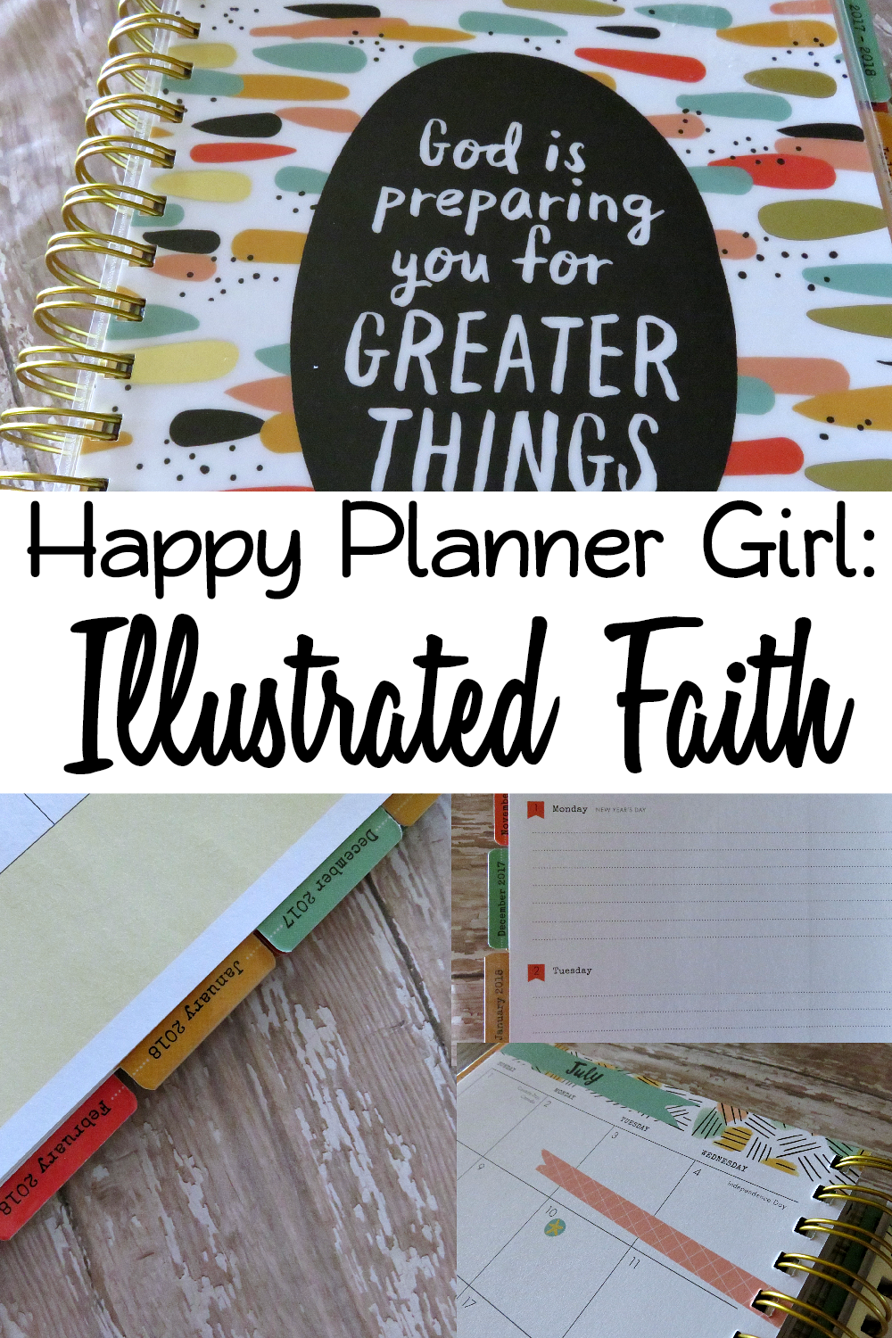 Happy Planner Girl Illustrated Faith Planner Review