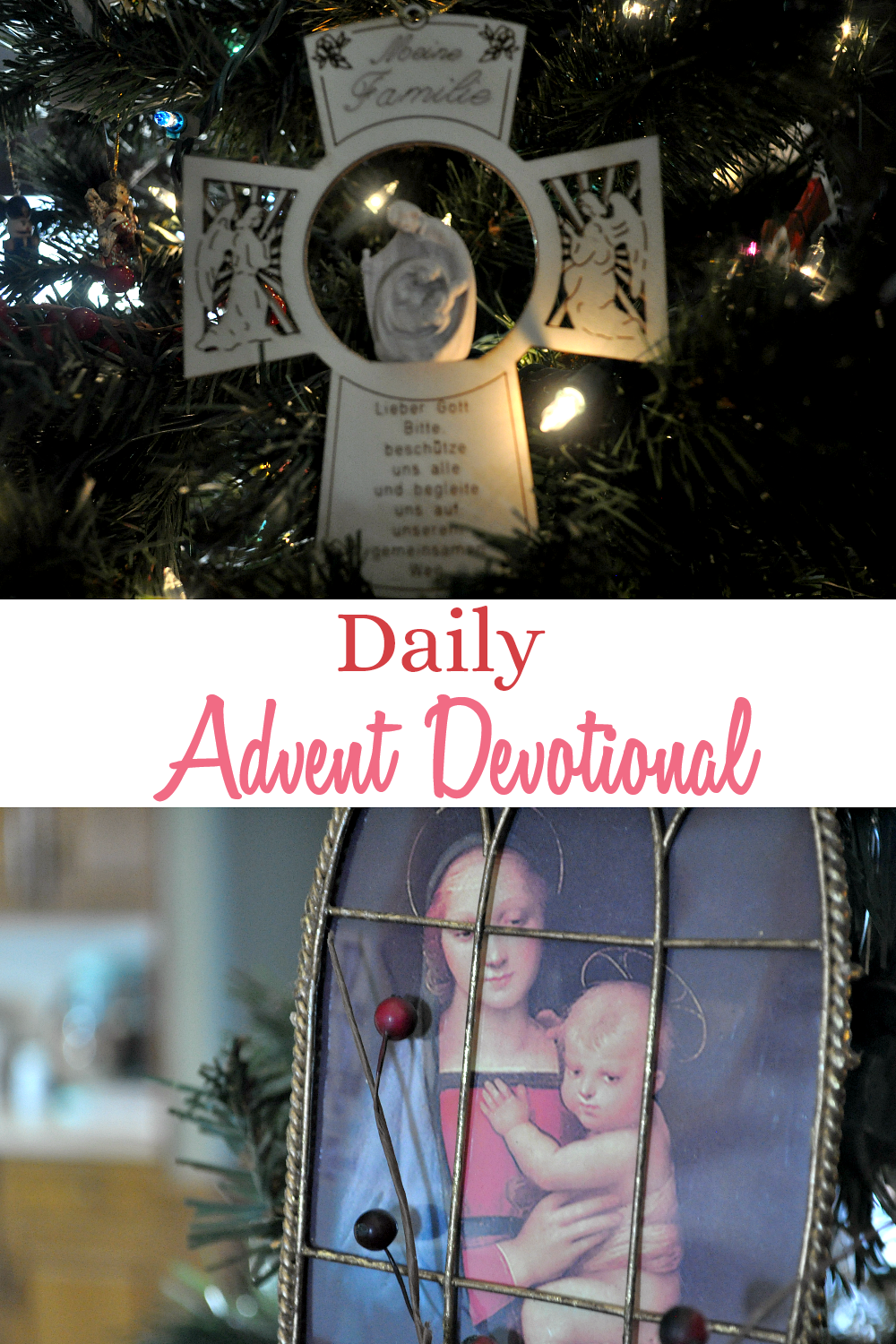 Women's Advent devotional following the readings of the Jesse Tree.