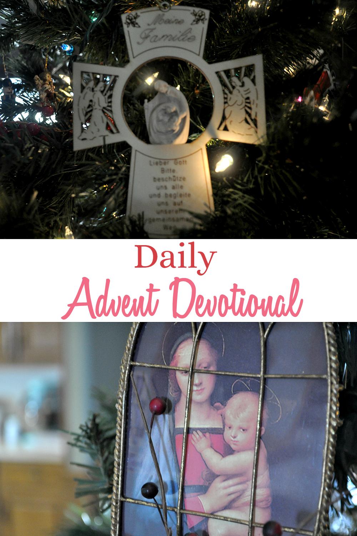 Women's Advent devotional following the readings of the Jesse Tree.