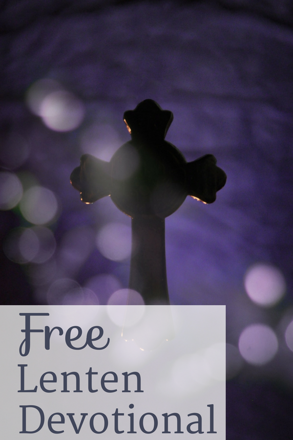 A free Lenten Devotional we can share together at The Littlest Way.
