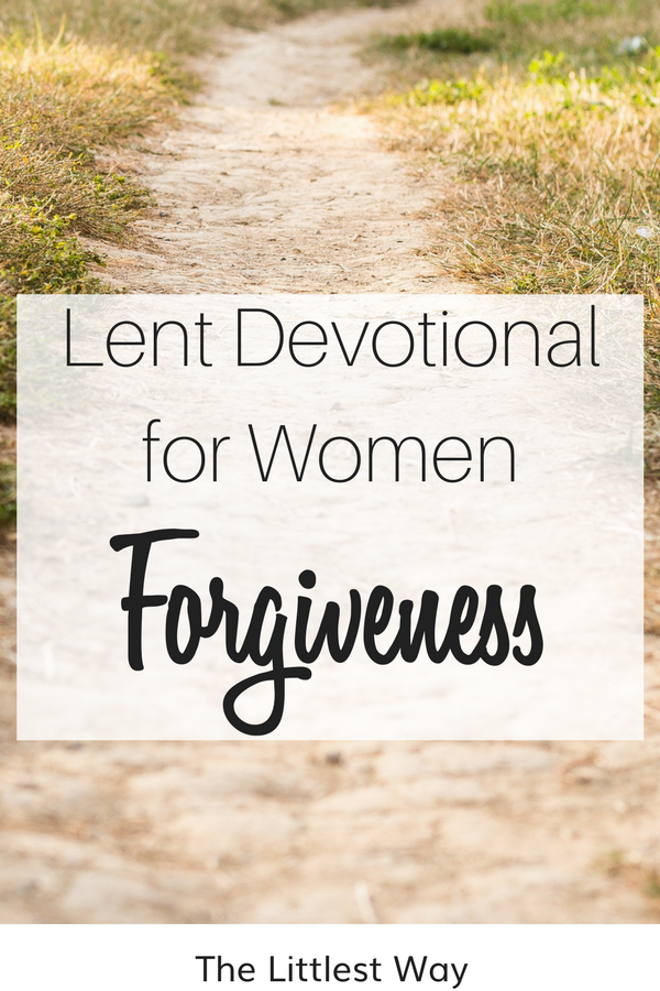 A long, dusty path leading to forgiveness.