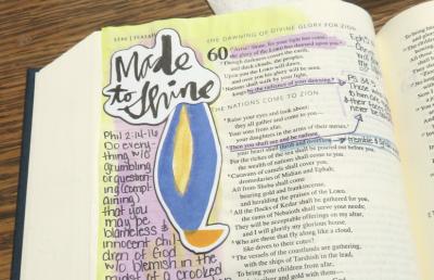 Catholic Journaling Bible: Made to Shine