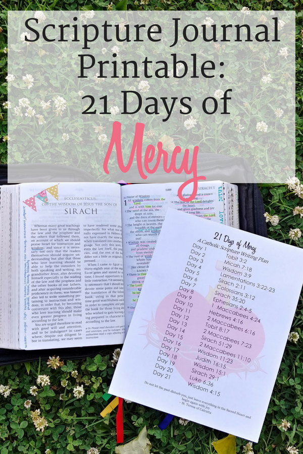 Scripture journal printables 21 days of mercy the littlest way before we get into the specifics of the scripture journal printables let me give you a little backstory this has been on my mind this communal writing of maxwellsz
