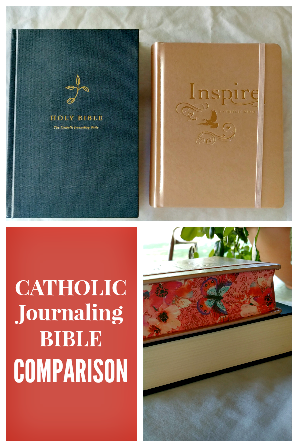 Comparing the Two Catholic Journaling Bibles